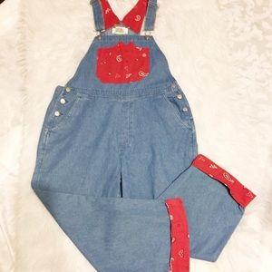 Denim - Women's Vintage overalls